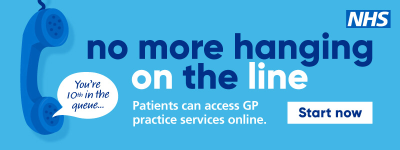 No more hanging on the line - Patients can access GP services online